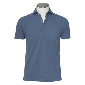 Barba Napoli Polo Steelblue