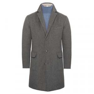 Barba Napoli Overcoat 'Doeskin' Down Grey