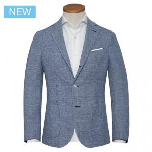 Barba Napoli Jacket Check Blue