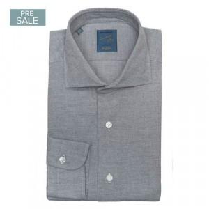 Barba Napoli Shirt Flannel Grey