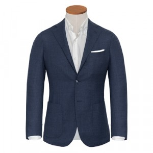 Barba Napoli Jacket Blue Melange