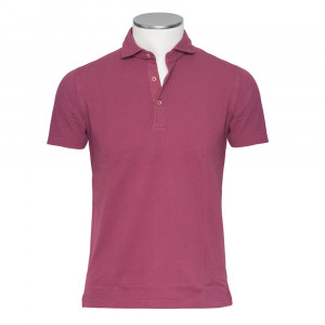 Barba Napoli Polo Burgundy