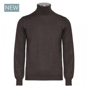 Barba Napoli Turtleneck Brown