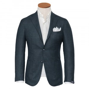 Barba Napoli Green Jacket Check