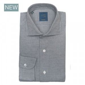 Barba Napoli Shirt Flannel Grey