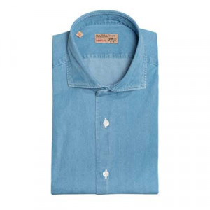 Barba Napoli Dandy Life Shirt Light Blue