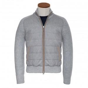 Gran Sasso Cardigan Flannel Grey