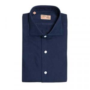 Barba Napoli Dandy Life Shirt Denim Blue