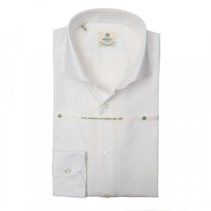 Luigi Borrelli Oxford Shirt White