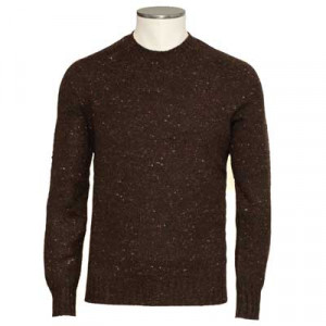 Drumohr Crewneck Donegal Brown