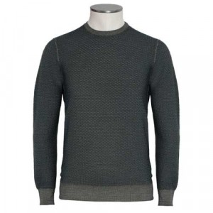 Drumohr Crewneck Wool 140'S Green