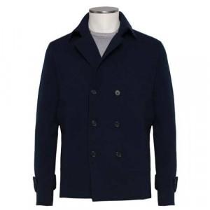 Drumohr Peacoat Wool Blue