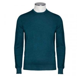 Drumohr Crewneck Merino Bottle-Green