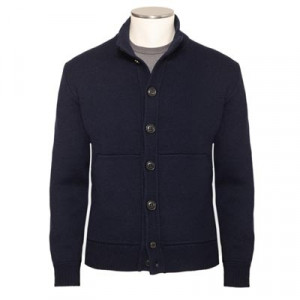 Drumohr Knitted Cardigan Blue