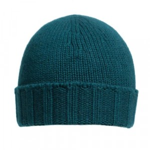 Drumohr Beanie Washed Cashmere Bottle Green