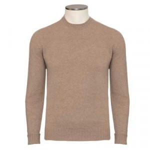 Drumohr Crewneck Geelong Light-Camel
