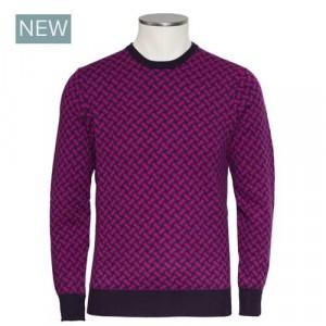 Drumohr Crewneck Cashmere Purple