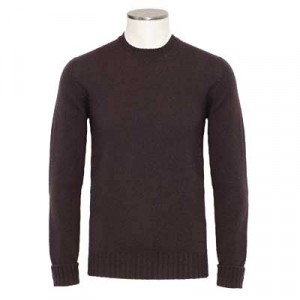 Drumohr Crewneck Geelong Brown