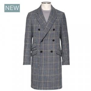 Drumohr Overcoat Check Doublebreasted