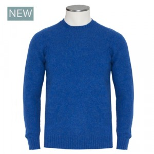 Drumohr Crewneck Geelong Blue