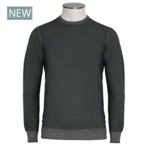 Drumohr Crewneck Wool 140'S Green