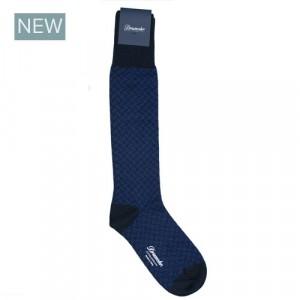 Drumohr Socks Biscottino Blue