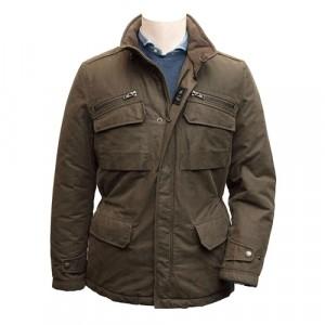 Fay Field Jacket Green
