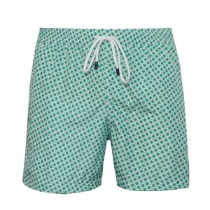 Fedeli Swim Trunk Escher Green
