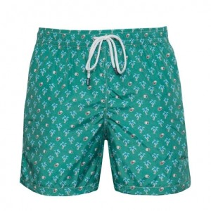 Fedeli Swim Trunk Palm Green