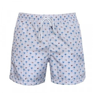 Fedeli Swim Trunk Palm White