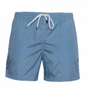 Fedeli Swim Trunk Waves Navy