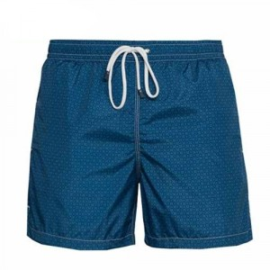 Fedeli Swim Trunk Flower Blue