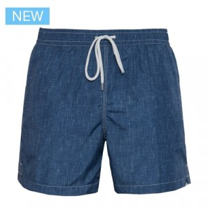 Fedeli Swim Trunk Structured Denim