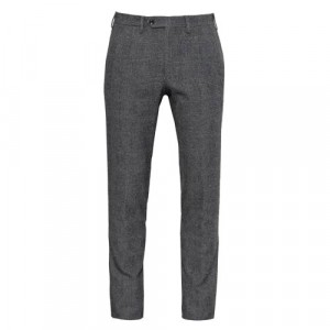 "Germano Trouser ""Glen-Plaid"" Grey"