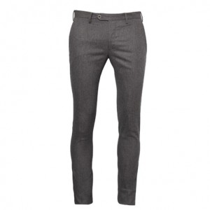 Germano Flannel Trousers Grey-Brown