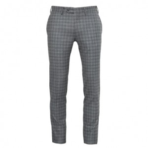 Germano Flannel Trousers Grey Check