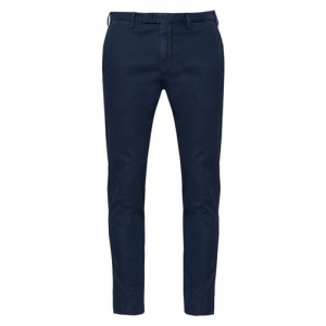 Germano Trousers Cotton Blue