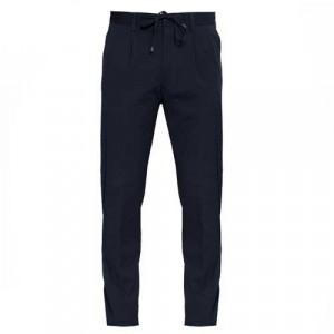 Germano Drawstring Trousers Seersucker Blue