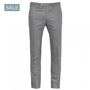 Germano Trousers Flannel Light Grey