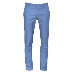 Germano Trousers Blue Weave