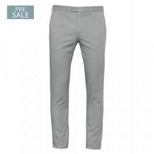 Germano Trousers Cotton Grey Fantasy