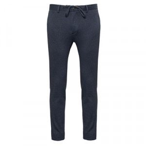 Germano Jersey Trousers Blue