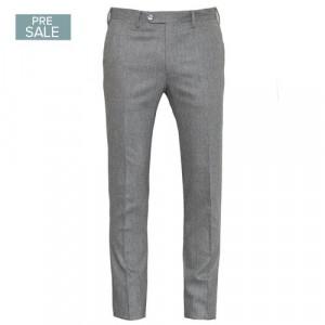Germano Trousers Flannel Light Grey
