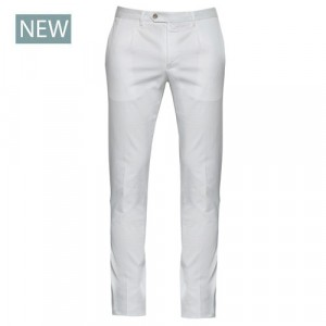 "Germano Trousers Cotton ""Cannettè"" White"