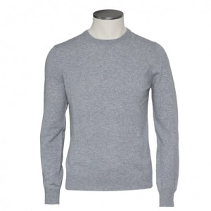 Gran Sasso Cashmere Crewneck Grey
