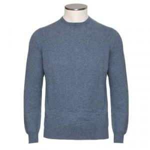 Gran Sasso Cashmere Crewneck Blue-Grey