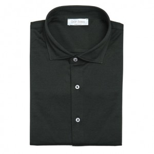 Gran Sasso Shirt Jersey Pique Green