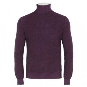 Gran Sasso Turtle Neck Burgundy