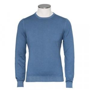Gran Sasso Cashmere Crewneck Light Blue