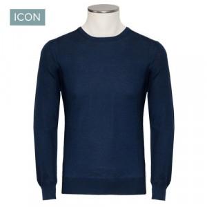 Gran Sasso Crewneck Wool Blue